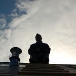 Я на крыше.